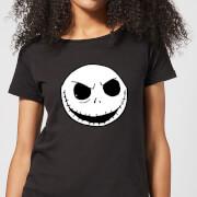 Nightmare Before Christmas Jack Skellington Women's T-Shirt - Black