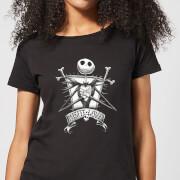 Nightmare Before Christmas Jack Skellington Misfit Love Women's T-Shirt - Black