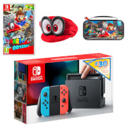 Nintendo Switch Super Mario Odyssey Pack