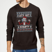 Pull de Noël Homme Rick et Morty - Let's Get Schwifty - Noir