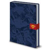 DC Originals (Superman Montage) A5 Premium Notebook