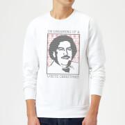 I'm Dreaming Of A White Christmas Sweatshirt - White