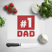 Image of #1 Dad Chopping Board