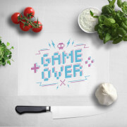 Game Over Chopping Board