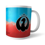 Magic The Gathering GOR Fractal Izzet Mug