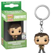 Fortnite Highrise Assault Trooper Pop! Keychain