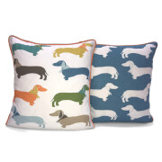 Rapport Sausage Dog Cushion - Multi
