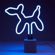 Exclusive Balloon Dog Neon Light - Concrete Base