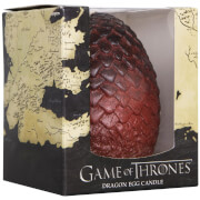 Game of Thrones Sculpted Candle Egg - Red
