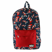 Loungefly Dr. Seuss Cat in the Hat AOP Backpack