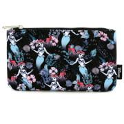 Loungefly Disney The Little Mermaid Ariel Floral Aop Pencil Case