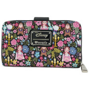 Loungefly Disney Beauty and the Beast Belle Floral Aop Wallet