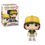 Figurine Pop! Dustin (Au Camp) - Stranger Things