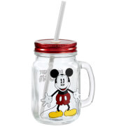 Disney Mickey Mouse Mason Jar