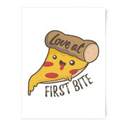 Love At First Bite Art Print - A3 - No Hanger