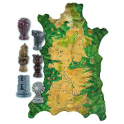 Dark Horse Game of Thrones Map Markers and Map