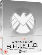 Marvel's Agent of S.H.I.E.L.D. Staffel 3 - Zavvi Exklusives Steelbook