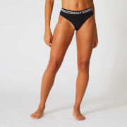 Seamless Thong - Black