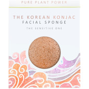Купить Спонж для лица The Konjac Sponge Company The Elements Air Facial Sponge — Calming Chamomile/Pink Clay 30 г