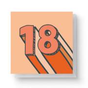 18 Square Greetings Card (14.8cm x 14.8cm)