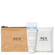REN Cleanse and Reveal Hot Cloth Cleanser Kit (Worth £19.50)