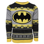 Batman Christmas Jumper - Black