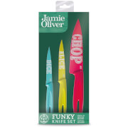 Jamie Oliver Everyday Funky Knife Set