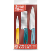 Jamie Oliver Everyday Crinkle-Cut Knife Set