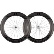 Reynolds 80 Aero Carbon Clincher Wheelset 2019 - Shimano/SRAM - Black