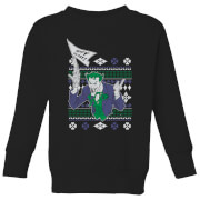 DC Joker Kids' Christmas Sweatshirt - Black