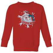 Marvel Spider-Man Kids' Christmas Sweater - Red