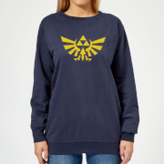 Nintendo Legend Of Zelda Hyrule Women's Sweatshirt - Navy