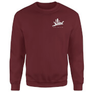 How Ridiculous XLIV Script Pocket Sweatshirt - Burgundy
