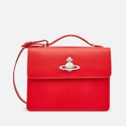 Vivienne Westwood Women's Matilda Medium Shoulder Bag - Red