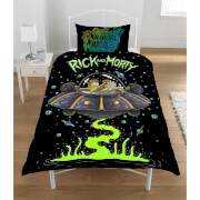 Rick & Morty Spaceship Duvet Set