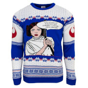 Star Wars Official Princess Leia Christmas Jumper - Multi