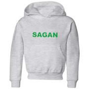 Image of Summit Finish Sagan Bold Kids' Hoodie - Grey - 9-10 Years - Grey