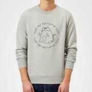 Fluff You Sweatshirt - Grey - 3XL - Grey