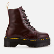 Dr. Martens Women's Jadon Ii Vegan 8-Eye Boots - Cherry Red