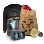 Harry Potter Mega Christmas Gift Set - Mens L - Burgundy
