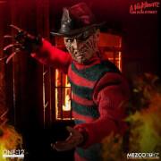 Mezco A Nightmare on Elm Street 1/12 Freddy Krueger Action Figure 17cm