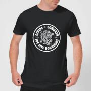 The five boroughs mens t shirt black l noir