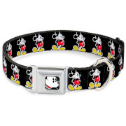 Buckle-Down Classic Mickey Mouse Dog Collar (Various Sizes)