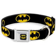 Buckle-Down DC Comics Batman Shield Dog Collar (Various Sizes)