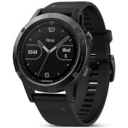 Garmin Fenix 5 Sapphire GPS Watch – Black/Black Band