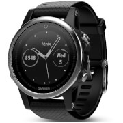 Garmin Fenix 5 Sapphire GPS Watch – Slate Grey/Black Band