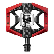 Crank Brothers Doubleshot 3 Pedals – Black/Red