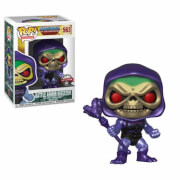 MOTU Skeletor With Battle Armor Metallic EXC Pop! Vinyl Figure