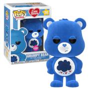 Care Bears Grumpy Bear (Flocked) EXC Pop! Vinyl Figure