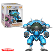 Overwatch D.Va with Mecha Blueberry 6-Inch EXC Pop! Vinyl Figure